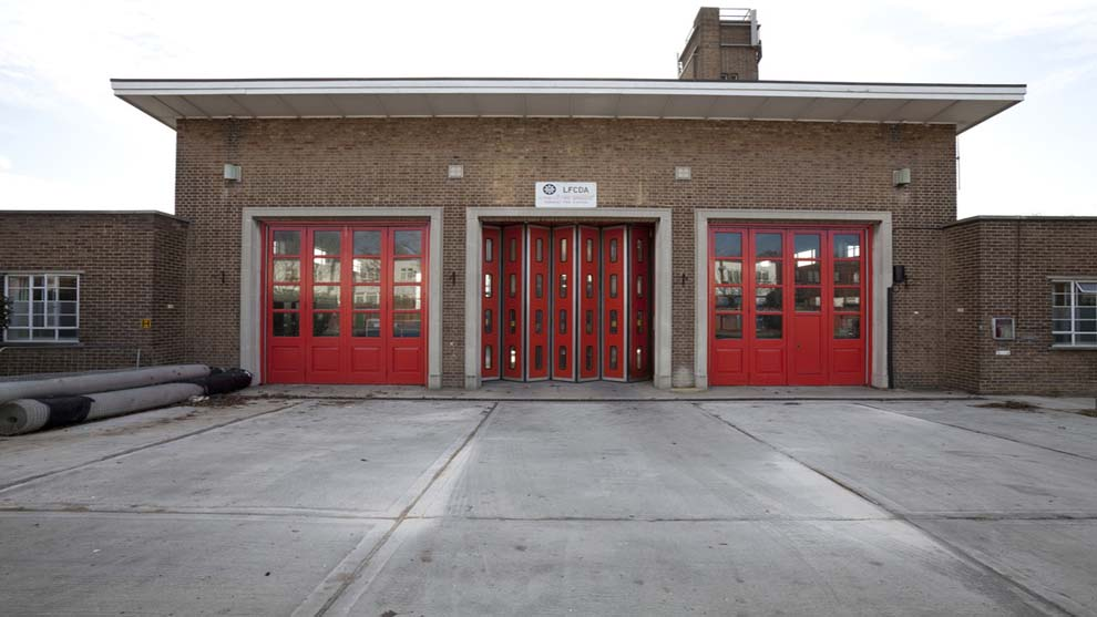 Hainault- Fire station