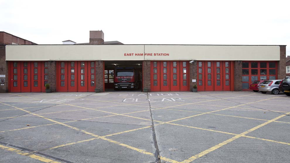 East Ham- Fire station
