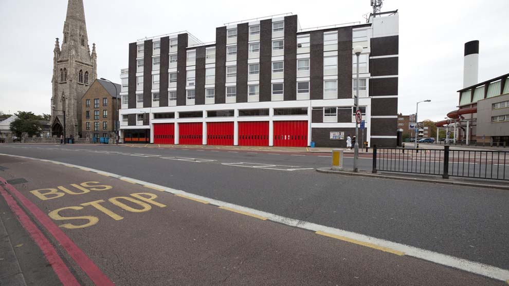 Lewisham - Fire station