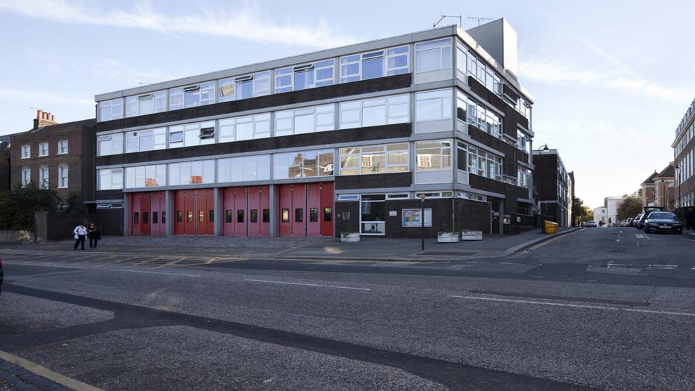 Clapham - Fire station
