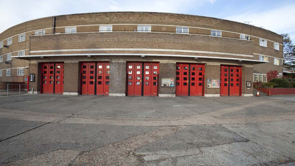 Heston - Fire station