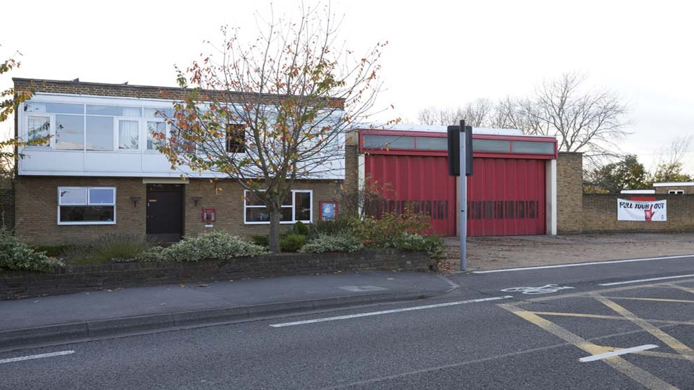 Feltham - Fire station