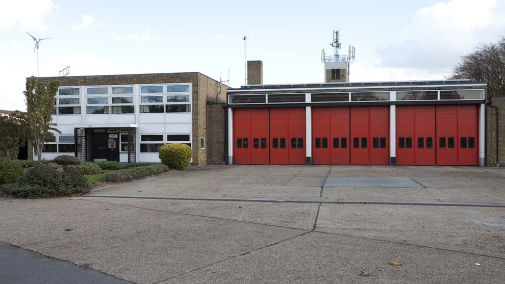 Hayes - Fire station