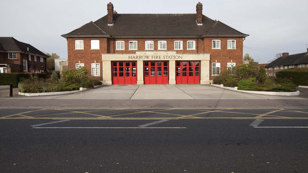 Harrow - Fire station