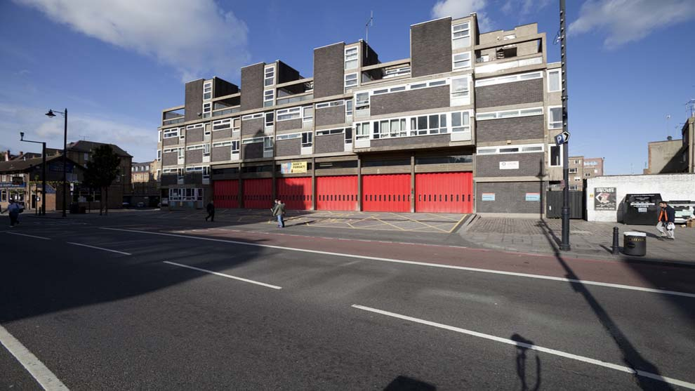 Shoreditch- Fire station
