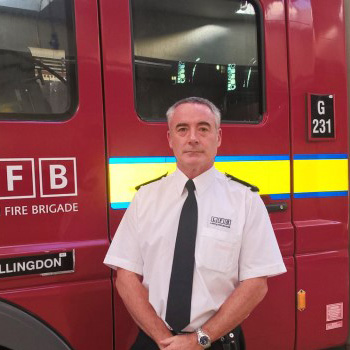 Borough Commander Martin Wilson