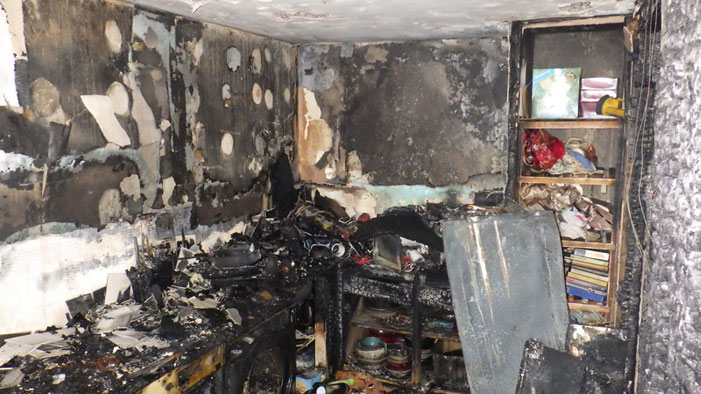 London fire brigade total recalls fire shepherds bush dire damage to property