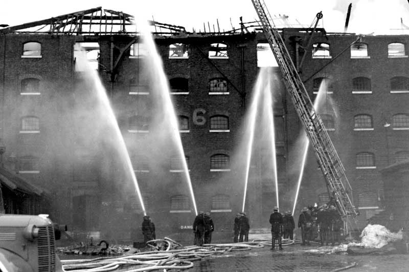 Firefighters of the Second World War | London Fire Brigade