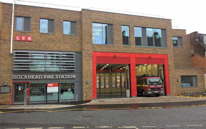London Fire Brigade Dockhead Fire Station