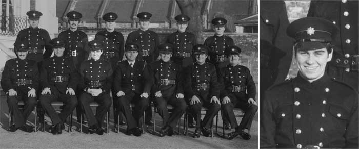 Previous Commisioner Ron Dobson with his crew in 1979