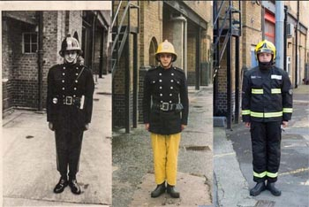 Three generations of firefighters