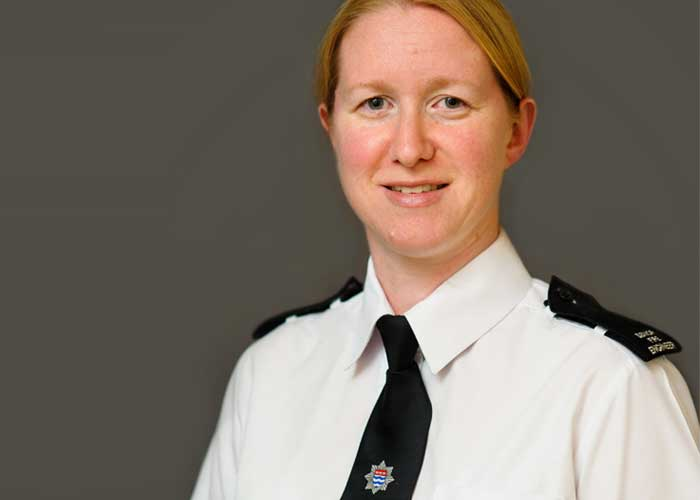 Lynsey Seal, Joint Head of London Fire Brigade Fire Engineering Group