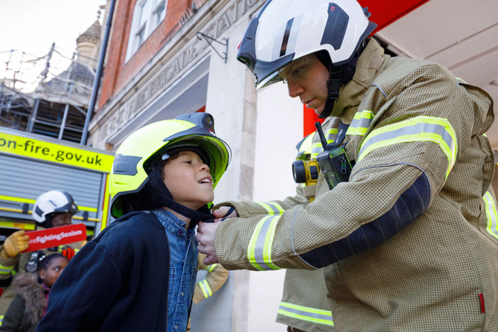Soho fire station open day